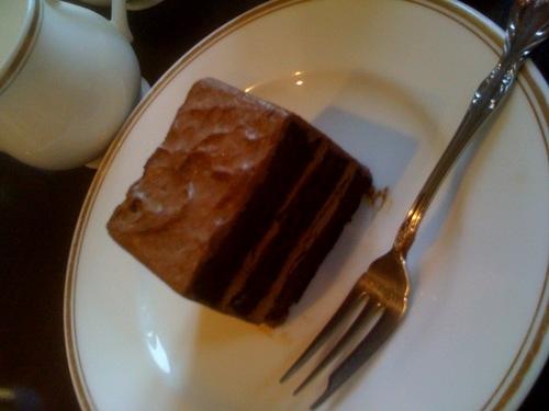 カーベカイザーのケーキセット