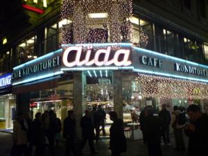 ウィーンのカフェaida