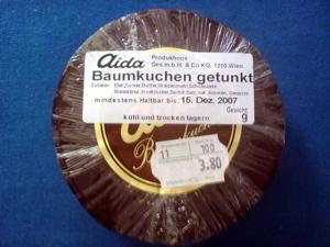 ウィーンのバウムクーヘン