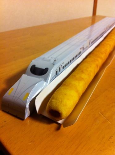 九州新幹線 N700系さくら ロングバームクーヘン