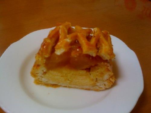 ユーハイム ディーマイスター 皮付き林檎のアップルパイ バウムクーヘン