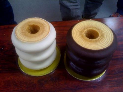 バッハマン バウムクーヘン チョコがけ2種類